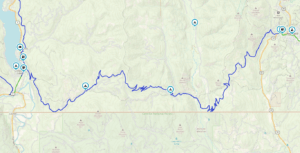 Old Cascade Highway Map